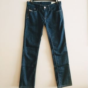 Diesel Liv Women's Jeans Size 27 Dark Blue